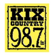 Radio WAKX - KIX Country 98.7