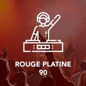 Radio ROUGE PLATINE 90